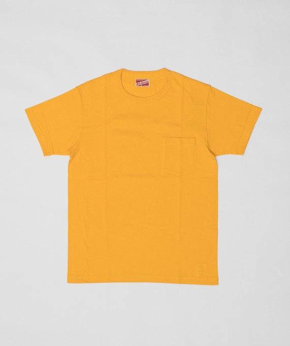 Pocket Tee Mc Coy's Yellow