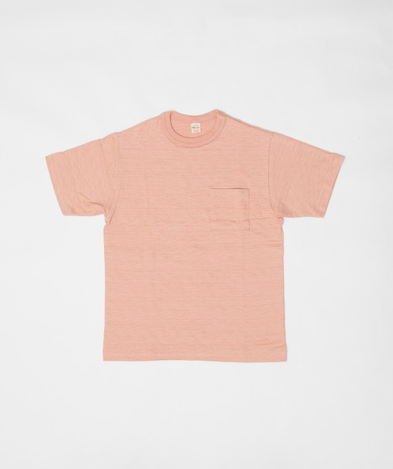 Pocket tee pink warehouse