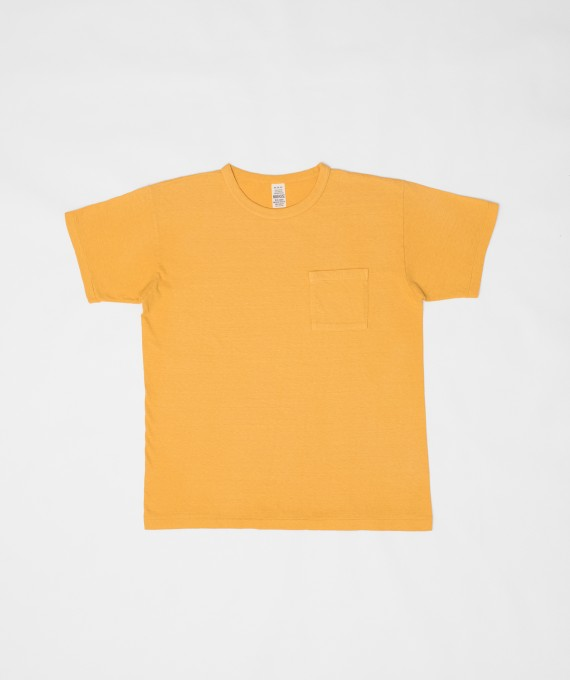 Faded Pocket Tee Gold