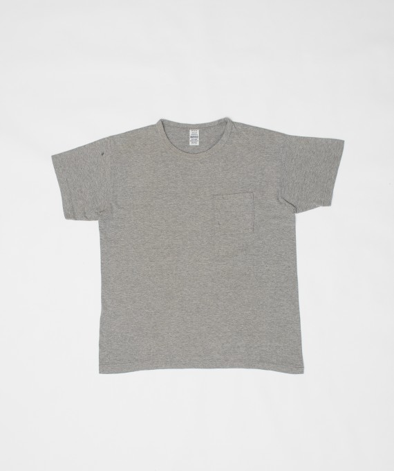Faded Pocket Tee H.Grey