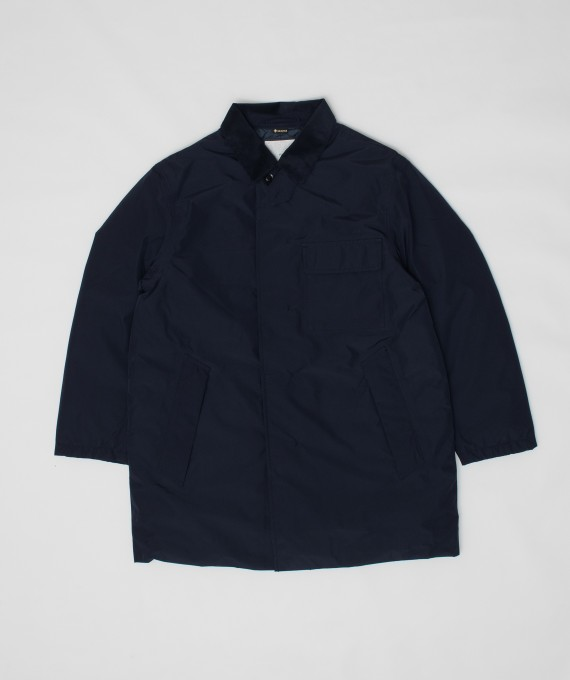 GORE-TEX Down Coat Navy nanamica