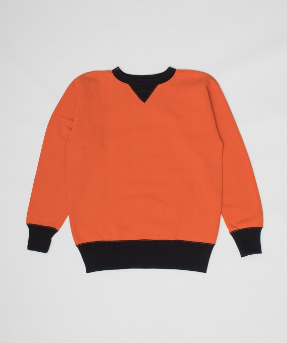 Crewneck Two Tone Orange