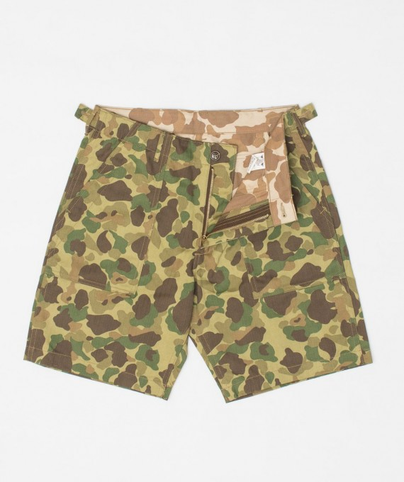 Frogskin Camo Short The Real McCoy's