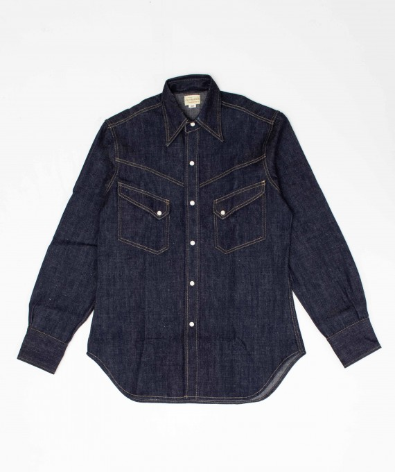 Denim Western Shirt 3001