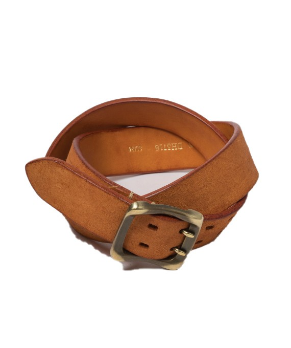 Handmade belt TAN 5716
