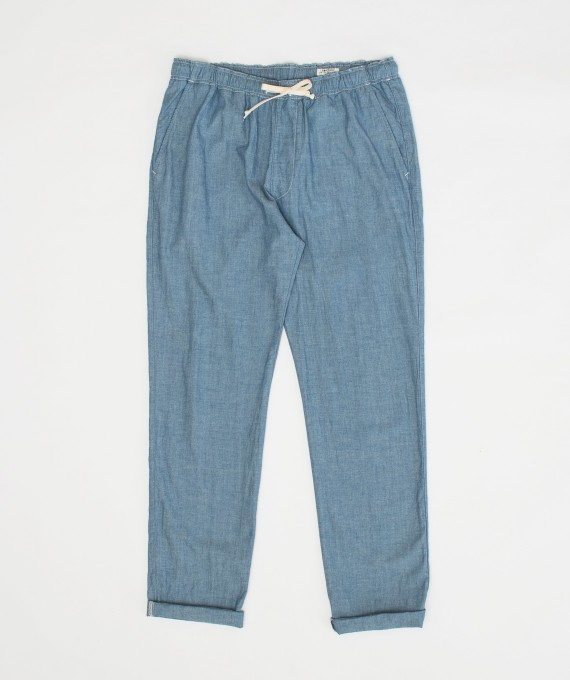 Relax Pants Chambray Indigo