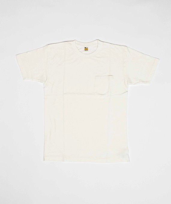 Tube Pocket Tee White