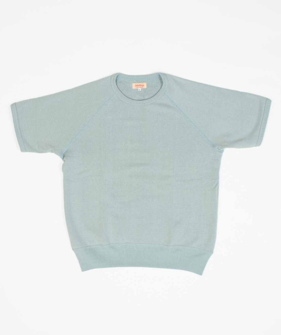 Sweatshirt S/S Light Blue The Real McCoy's