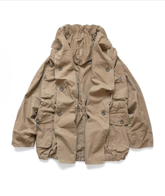 ARMY RING Coat Gold