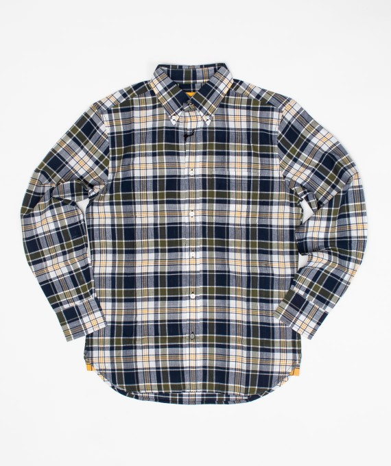 Madras Shirt Navy