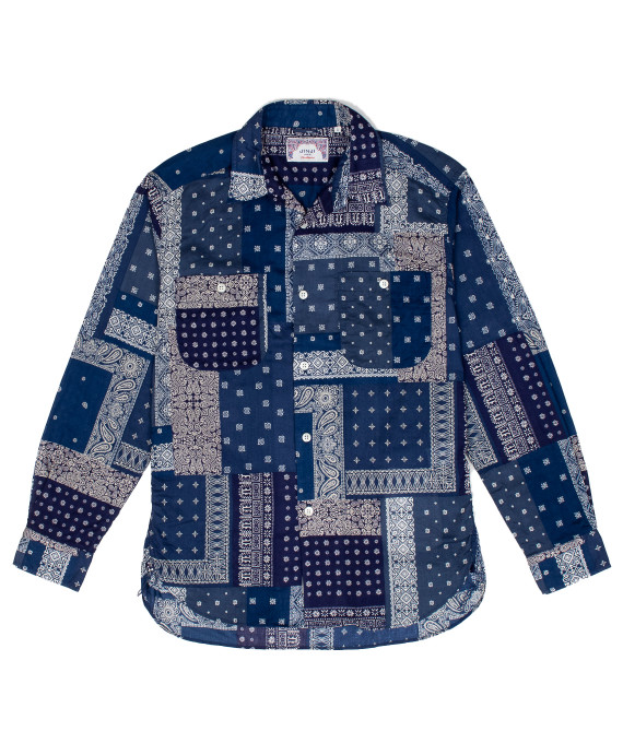 Bandana Shirt Blue