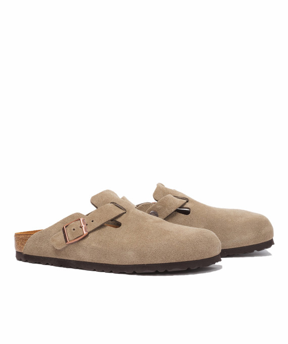 Boston Suede Taupe