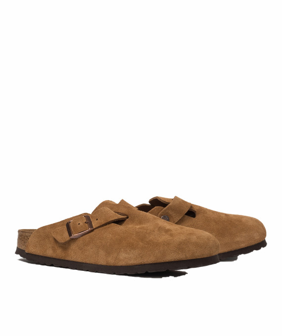 Boston Suede Mink Birkenstock