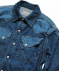 Lace Up Western Shirt Kapital