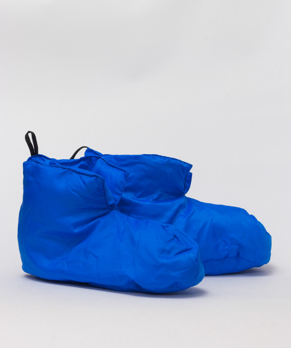 Down Bootie Royal Blue