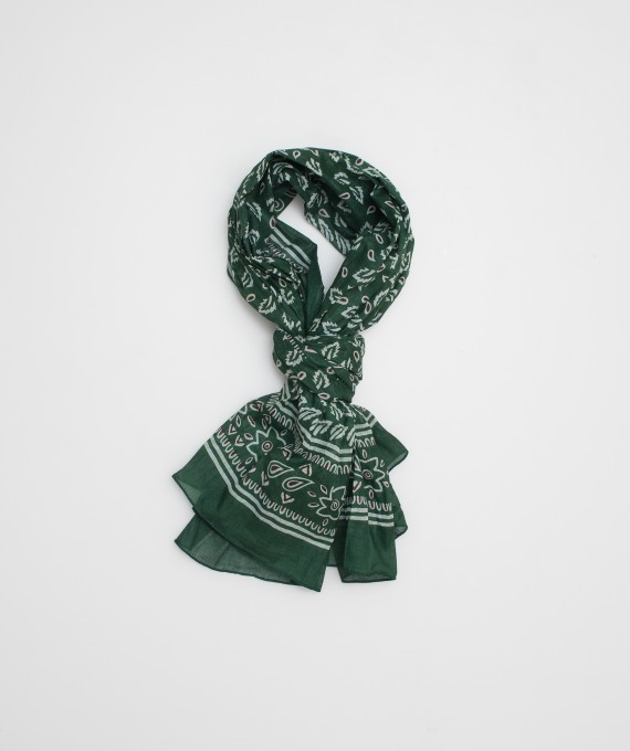 Indian scarf green