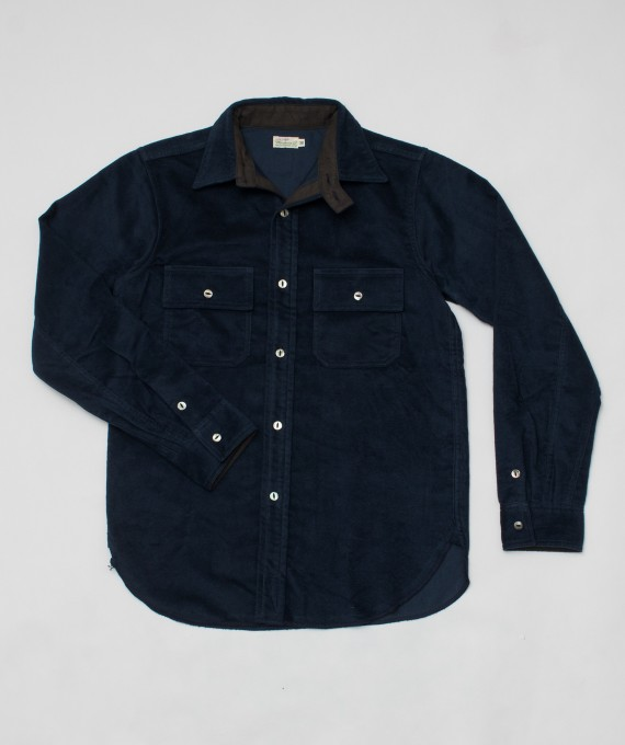 Coton blanket shirts navy