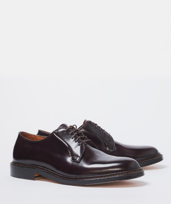 Alden Plain toe cordovan color 8
