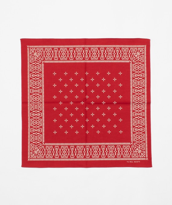 Bandana Cross Red The Real McCoy's